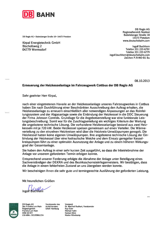 Ket Energietechnik - References