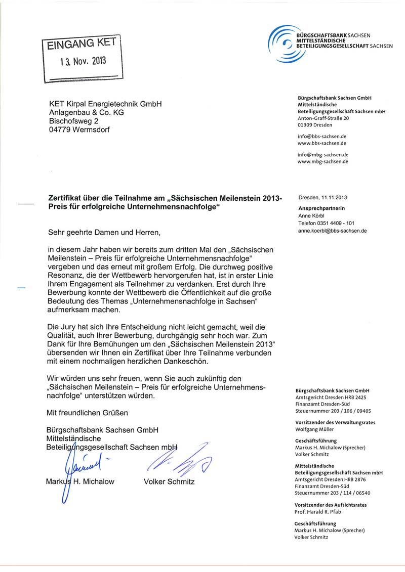 Ket energietechnik certificates permissions certificates xflitez Choice Image